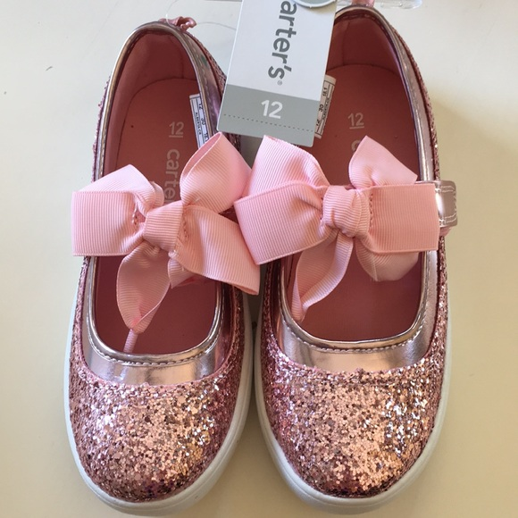 b8d71a96257d Carter's Shoes | New Carters Pink Glitter Mary Jane | Poshmark